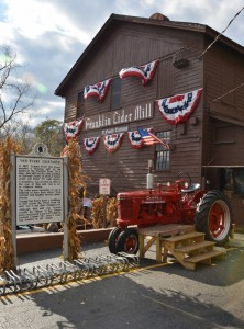 Historic Franklin Cider Mill - photo by Michael Dwyer