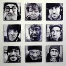 "2013 top winner, Human by Rashaun Rucker (Grosse Pointe Park); photography on metal, 36"" x 36"""