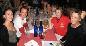 Go to Dinner with People you Meet while Traveling - photo by Michael Dwyer