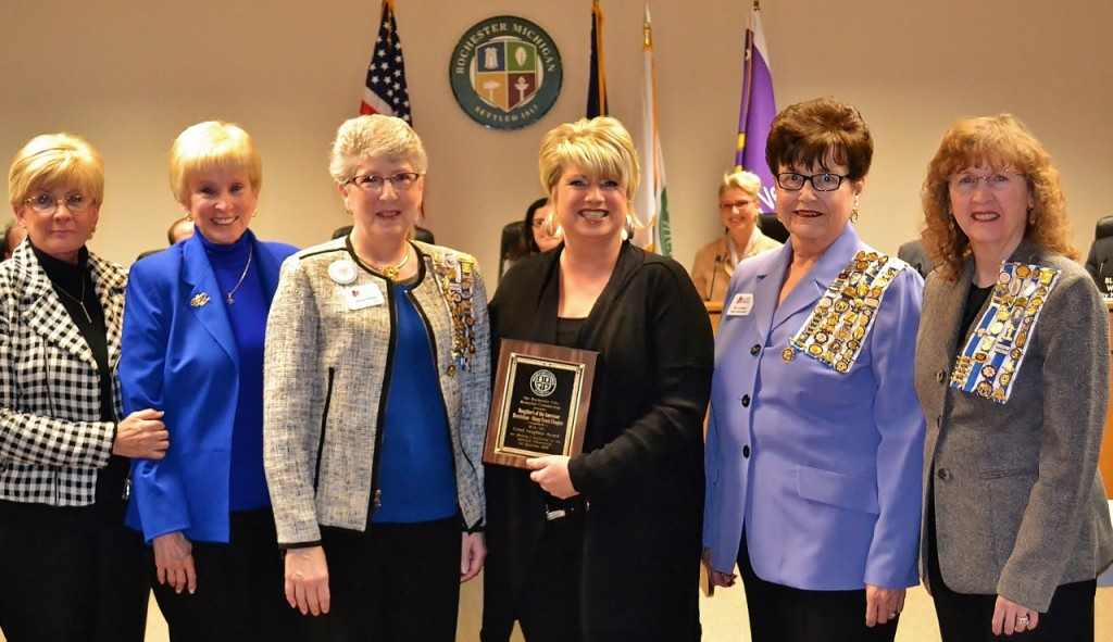 Daughter's of the American Revolution - Stony Creek Chapter - named recipients of the Rochester Good Neighbor Award