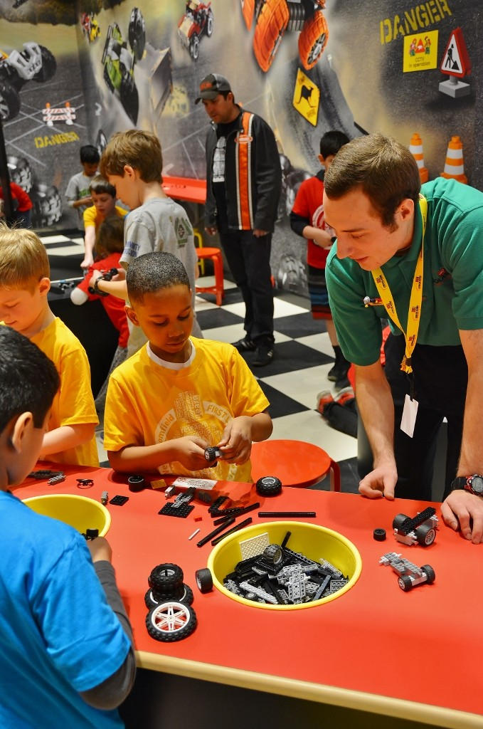 Build and Test at LEGOLAND - photo by Michael Dwyer