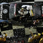 No. 2 Detroit Genuine Parts Ford Fusion driven by Brad Keselowski of Rochester Hills wins Coke Zero 400 at Daytona