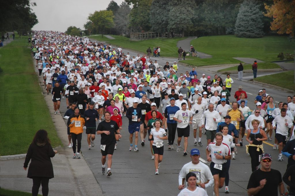 The Brooksie Way half Marathon will Close Roads to Cars and Fill them with Runners