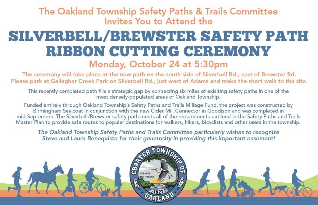 Silverbell/Brewster Safety Path Ribbon Cutting Ceremony