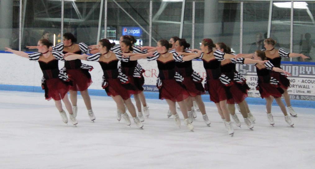 ONYX Synchro Skating Team Qualifies for National Championships