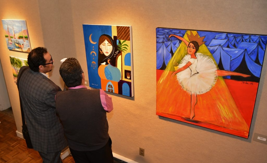 The Pontiac Creative Art Center Celebrates National Arab-American Heritage Month (2016 Event) - Photo by Michael Dwyer