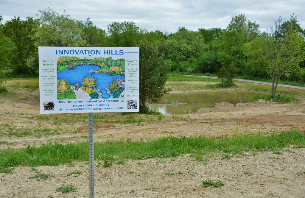 Rochester Hills Begins Work on First Park in 25 Years - photo by Michael Dwyer