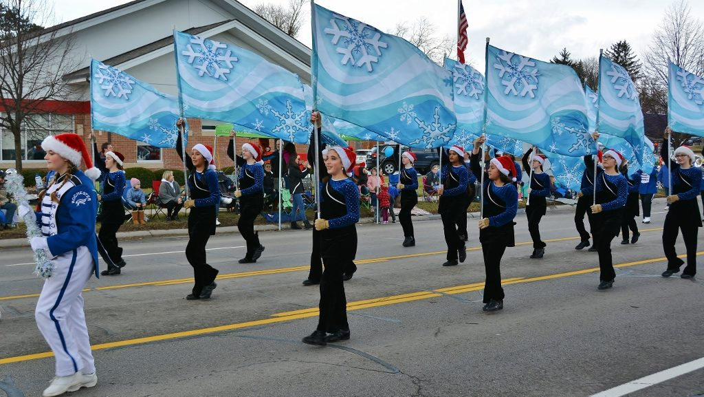 Rochester High School Marching Band - photo by Michael Dwyer