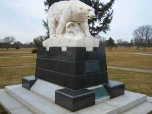 Polar Bear Monument at White Chapel Cemetery