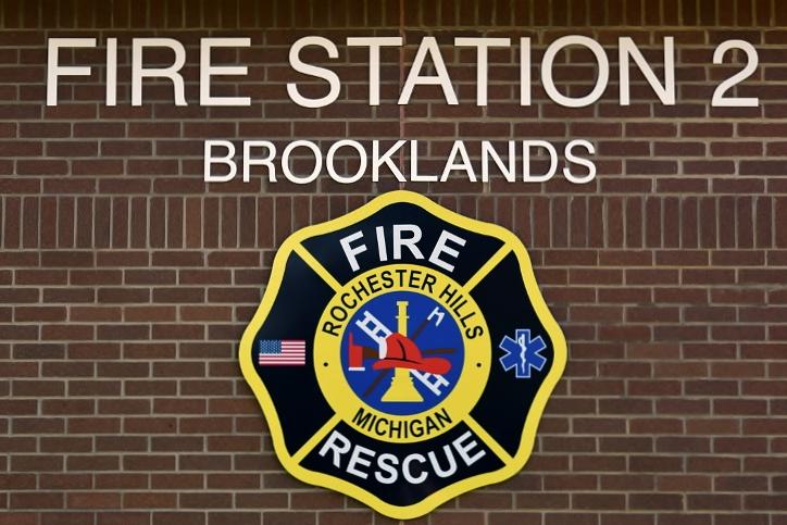 Avon Fire Station #2 Sign